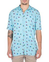 Barney Cools - Holiday Fish Print Shirt - Lyst