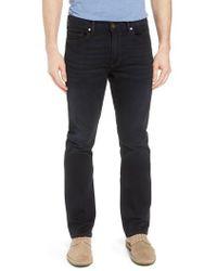 PAIGE - Transcend - Normandie Straight Leg Jeans - Lyst