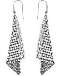 Swarovski - The Fit Crystal Drop Earrings - Lyst