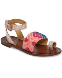 Free People | Torrence Ankle Wrap Sandal | Lyst