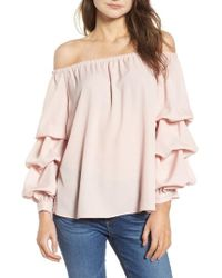 Chelsea28   Off The Shoulder Top   Lyst