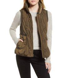Gallery - Packable Pillow Collar Vest - Lyst