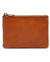 Madewell - Small Victory Leather Pouch - Lyst
