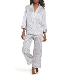 Natori   Abstract Maze Sateen Pyjamas   Lyst
