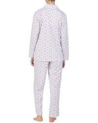 Eileen West - Knit Pajamas - Lyst