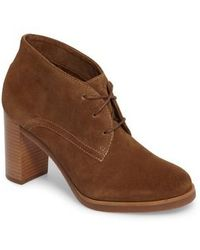 Johnston & Murphy - Alayna Lace-up Bootie - Lyst