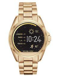 Michael Kors | Michael Michael Kors Bradshaw Access Bracelet Smart Watch | Lyst