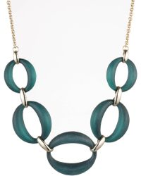Alexis Bittar - Large Link Lucite Necklace - Lyst