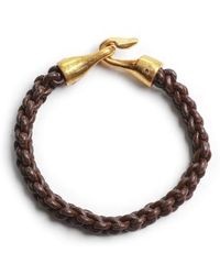 George Frost | Zipper Harpoon Bracelet | Lyst