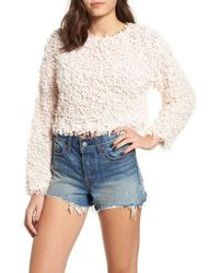 Somedays Lovin - Glorious Crop Sweater - Lyst