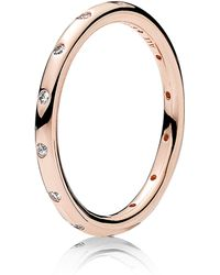 PANDORA - Droplets Stacking Ring - Lyst