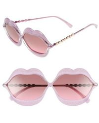 Wildfox - 'lip Service' 65mm Sunglasses - Lyst