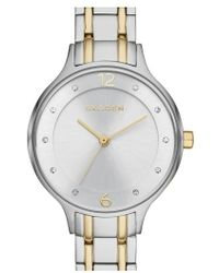 Skagen | 'anita' Crystal Index Bracelet Watch | Lyst