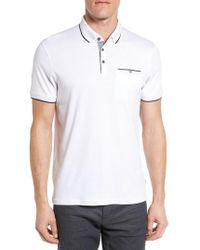Ted Baker - Derry Modern Slim Fit Polo - Lyst