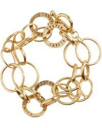 Karine Sultan - Link Wrap Bracelet - Lyst