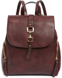 Sole Society - Marah Faux Leather Backpack - - Lyst