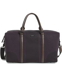 Ted Baker - Knit Holdall Duffle Bag - - Lyst