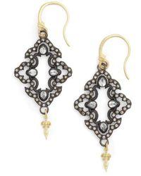 Armenta - Arementa Old World Open Scroll Drop Earrings - Lyst