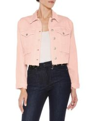 Joe's - '80s Crop Denim Jacket - Lyst
