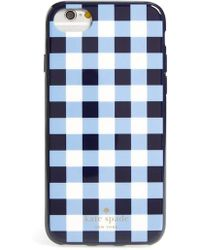 Kate Spade - Gingham Iphone 7/8 & 7/8 Plus Case - Lyst