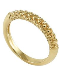 Lagos - Caviar Band Ring - Lyst