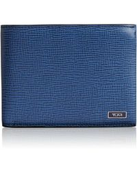 Tumi - 'monaco' Global Leather Wallet With Coin Pocket - Lyst