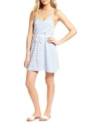 Cupcakes And Cashmere - Desi Stripe Knit Dress - Lyst