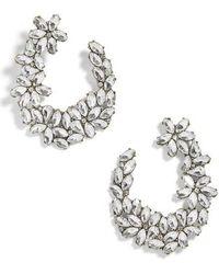 BaubleBar - Evolet Hoop Earrings - Lyst