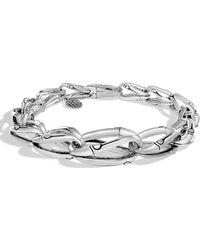 John Hardy - Bamboo Tapered Link Bracelet - Lyst