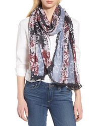 Treasure & Bond - Tassel Trim Printed Wrap - Lyst