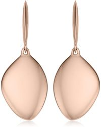 Monica Vinader - Engravable Nura Vermeil Teardrop Earrings - Lyst