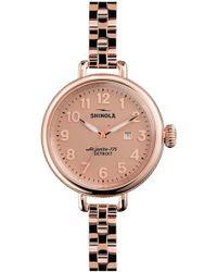 Shinola - 'the Birdy' Bracelet Watch - Lyst