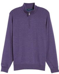 Bobby Jones | Cable Wind Wool Sweater | Lyst