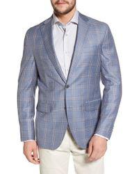 David Donahue - Arnold Classic Fit Plaid Wool Sport Coat - Lyst