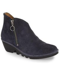Fly London - Poro Wedge Bootie - Lyst