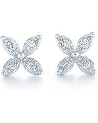 Kwiat - 'sunburst' Diamond Stud Earrings - Lyst