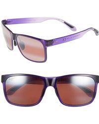 Maui Jim - Red Sands 59mm Polarizedplus2 Sunglasses - Purple Fade/ Maui Rose - Lyst