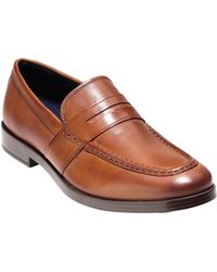 4a34f5a5b0a Lyst - Cole Haan Moto Grand Venetian Driver in Black for Men