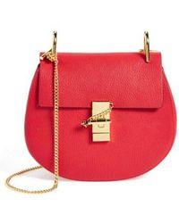 Chloé - Drew Medium Leather Shoulder Bag - Lyst