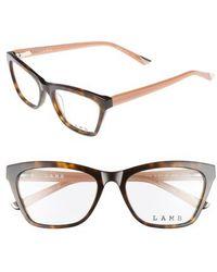 L.A.M.B. - 51mm Optical Geometric Glasses - Lyst