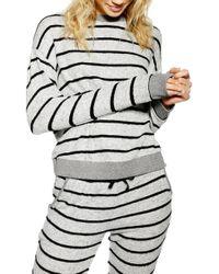 TOPSHOP Supersoft Sweatshirt Sleep Top
