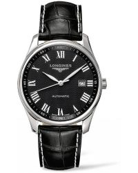 Longines - Master Automatic Leather Strap Watch - Lyst