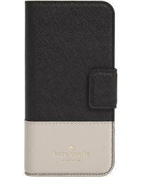 Kate Spade - Leather Iphone 7/8 & 7/8 Plus Case - - Lyst