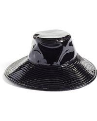 Eric Javits - Driptidoo Patent Bucket Rain Hat - Lyst
