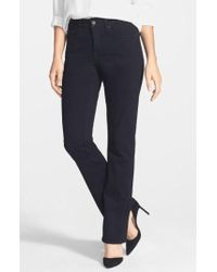 NYDJ - 'billie' Stretch Mini Bootcut Jeans - Lyst