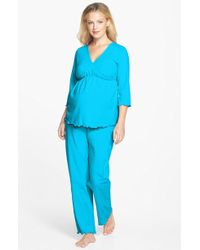 Japanese Weekend - Maternity/nursing Pajamas - Lyst