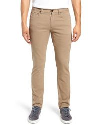 Bugatchi - Slim Fit Straight Leg Pants - Lyst