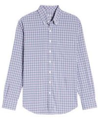Bobby Jones | Matthers Easy Care Plaid Sport Shirt | Lyst