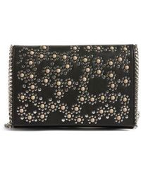 Chelsea28 - Embellished Faux Leather Convertible Clutch - Lyst