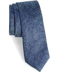 Calibrate - Alexander Paisley Silk Tie - Lyst
